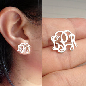 Bespoke Monogram Earrings