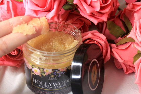 hollywood glow scrub - full body scrub