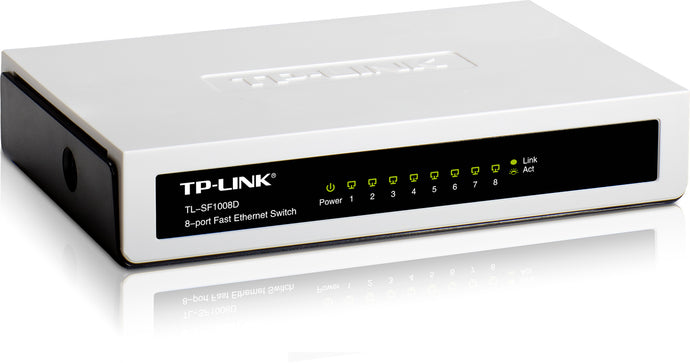8 Port 10/100M Unmanaged Switch