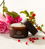 Overnight Facial Mask with Pomegranate & Moroccan Rose