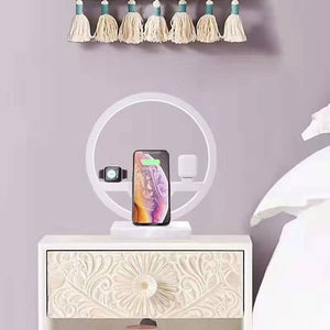 4 in 1 Wireless Charger Lamp
