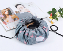 Load image into Gallery viewer, Drawstring Cosmetic Pouch