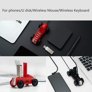 Vintage Car 4 Port USB 2.0 HUB - GrandOakTree