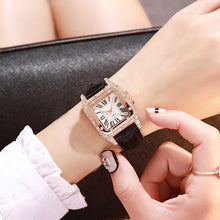 Load image into Gallery viewer, Luxury Women Diamond Watch with FREE Bracelet - GrandOakTree