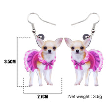 Load image into Gallery viewer, New Acrylic Chihuahua Earrings - GrandOakTree