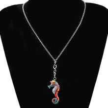 Load image into Gallery viewer, Hippocampus Necklace - GrandOakTree