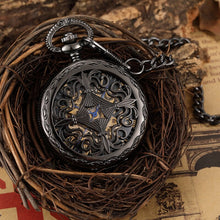Load image into Gallery viewer, Antique Mechanical Pocket Watch - GrandOakTree