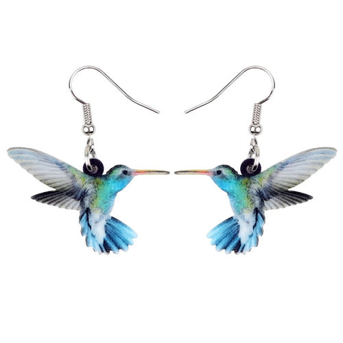 Acrylic Bird Earrings - GrandOakTree