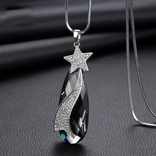 Load image into Gallery viewer, Long Necklace with Pendant for Women - Star Drop - GrandOakTree