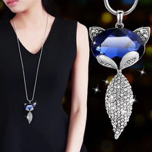 Load image into Gallery viewer, Long Necklace with Pendant for Women - Fox - GrandOakTree