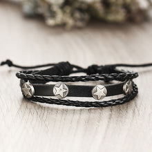 Load image into Gallery viewer, High Quality Multilayer Leather Bracelet Feather - GrandOakTree