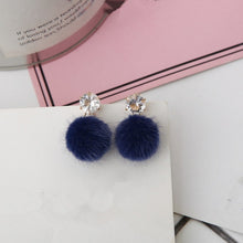 Load image into Gallery viewer, New Wild Hair Ball Earrings - GrandOakTree