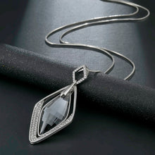 Load image into Gallery viewer, Long Necklace with Pendant for Women - Rhombus - GrandOakTree