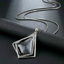 Load image into Gallery viewer, Long Necklace with Pendant for Women - Geometric - GrandOakTree