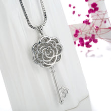 Load image into Gallery viewer, Long Necklace with Pendant for Women - Key - GrandOakTree
