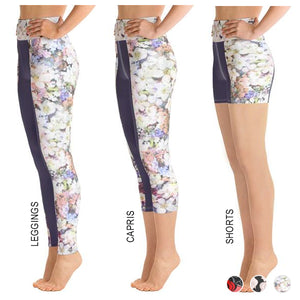 Alexandra Purple Floral Bottoms