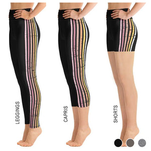 Lenni Black Stripe Bottoms
