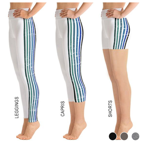 Lenni White Stripe Bottoms