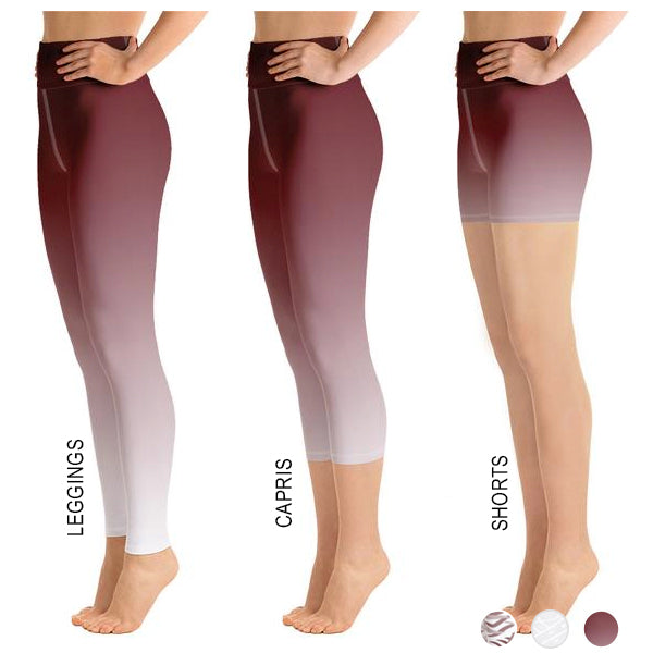 Lola Maroon Ombre Bottoms