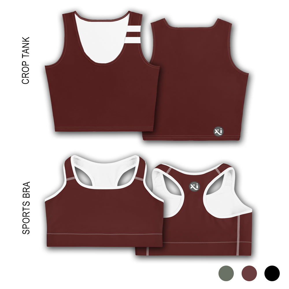 Riley Maroon Tops