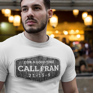 Call Fran Men's Tri-Blend Tee