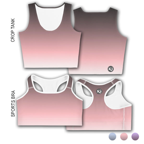 Penny Pink Ombre Tops