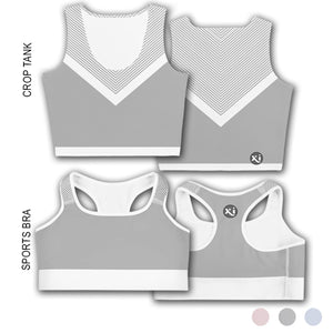 Swayzie Grey Tops