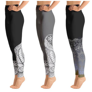 Zodiac Mandala Leggings
