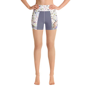 Alexandra Purple Floral Shorts