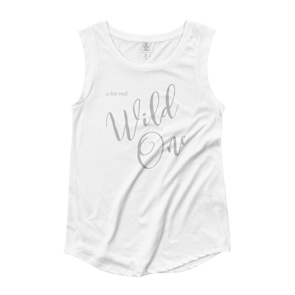 Swayzie Grey Wild One Muscle Tee