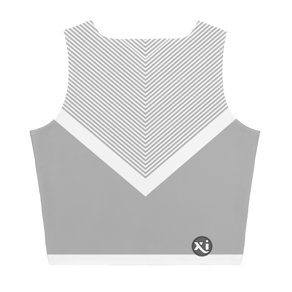 Swayzie Grey Crop Top