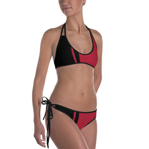 Red Hot Reversible Bikini