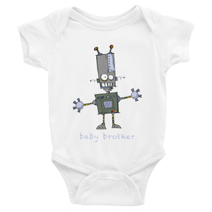 Robot Baby Brother Bodysuit