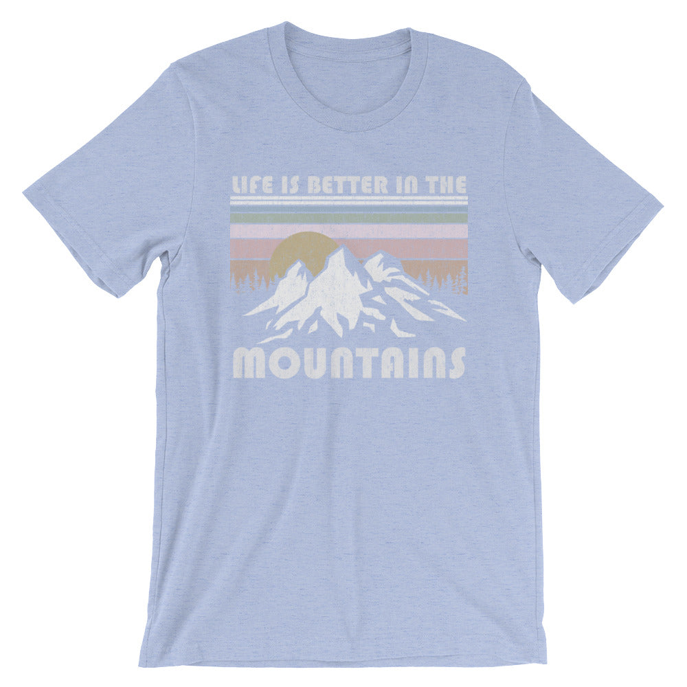 Lenni Retro Mountain Boyfriend Tee