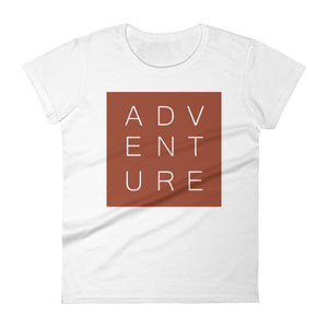 Maggie Adventure White Ladies Tee