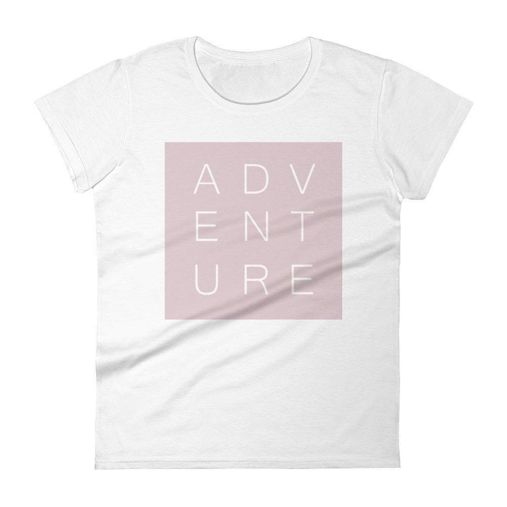 Swayzie Pink Adventure Ladies Tee