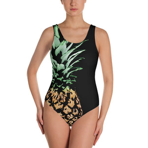 Pineapple One-Piece Swimsuit