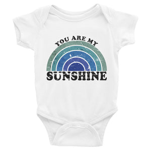 Blue Sunshine Baby Bodysuit