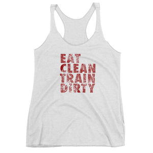 Train Dirty Racerback Tank