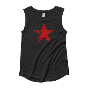 Roxy Red Star Muscle Tee