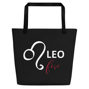 Leo Fire Gym Bag