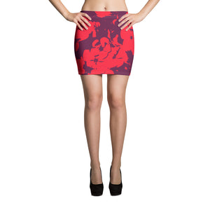 Hawaii Flowers Swim Skirt