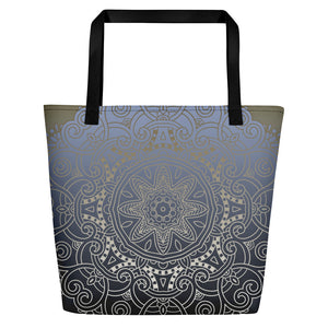 Zodiac Mandala Gym Bag