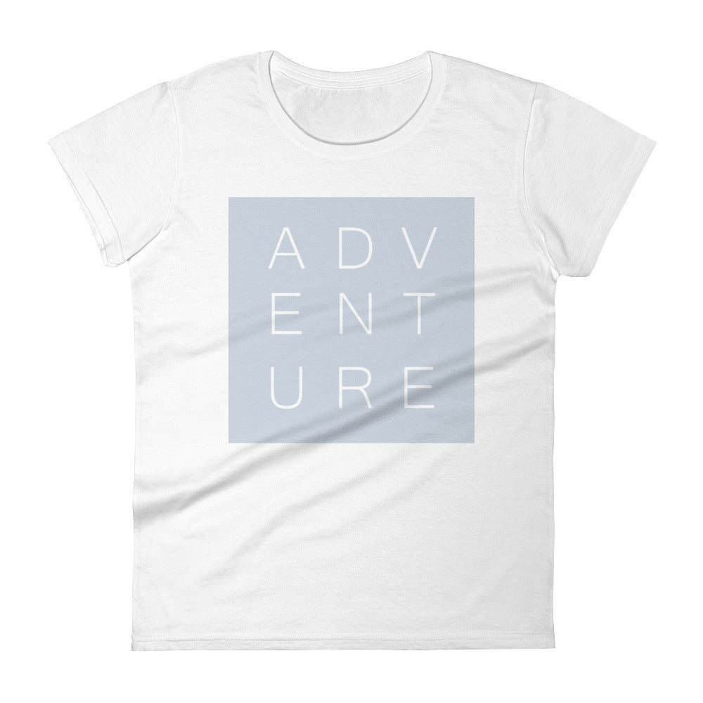 Swayzie Blue Adventure Ladies Tee