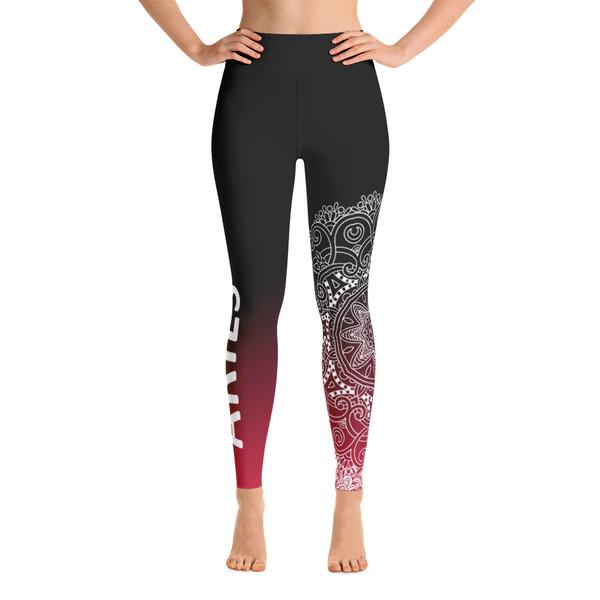 Zodiac Fire Signs Leggings