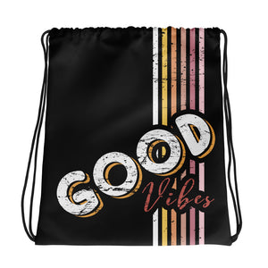 Lenni Good Vibes Drawstring Bag