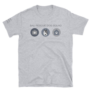 Bali Rescue Dog Squad Charity Tee White/Grey
