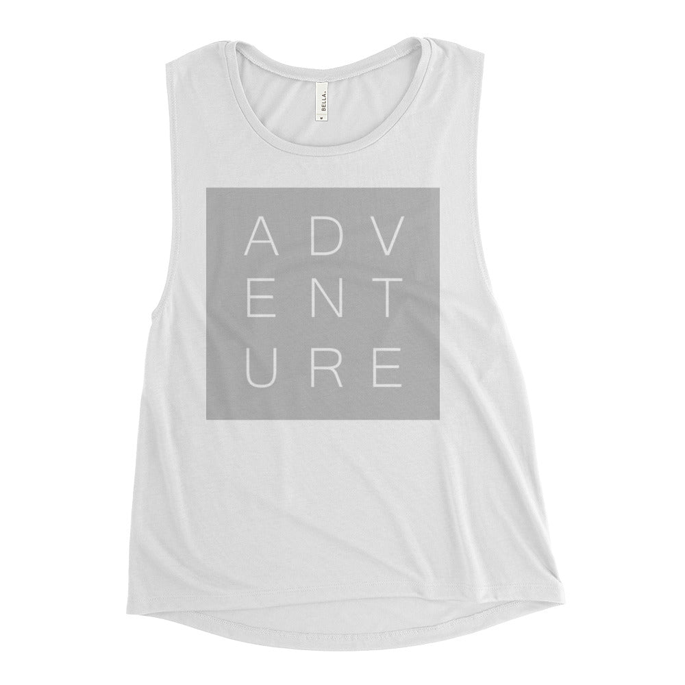 Swayzie Grey Adventure Muscle Tank
