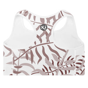 Lola Palm Leaves Sports Bra
