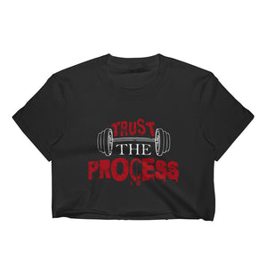 Erin Trust The Process Crop Top